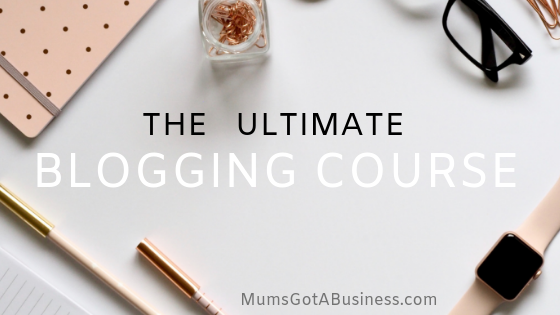 Best blogging course