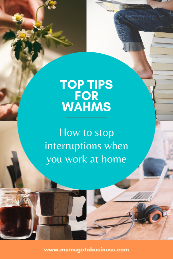 How to stop interruptions when you work at home